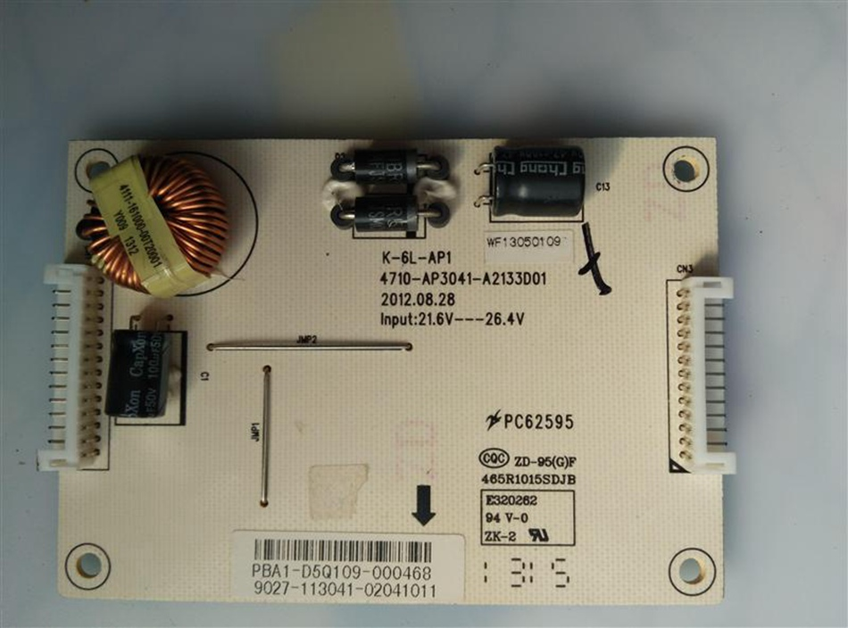 Original For LE37K16 constant current plate 4710 AP3041 A2133D01 boost plate
