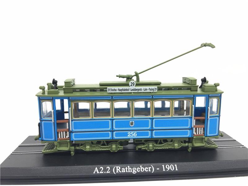 Atlas 1:87 Scale Locomotive Model Toys Plastic Train A2.2 (Rathgeber) 1901