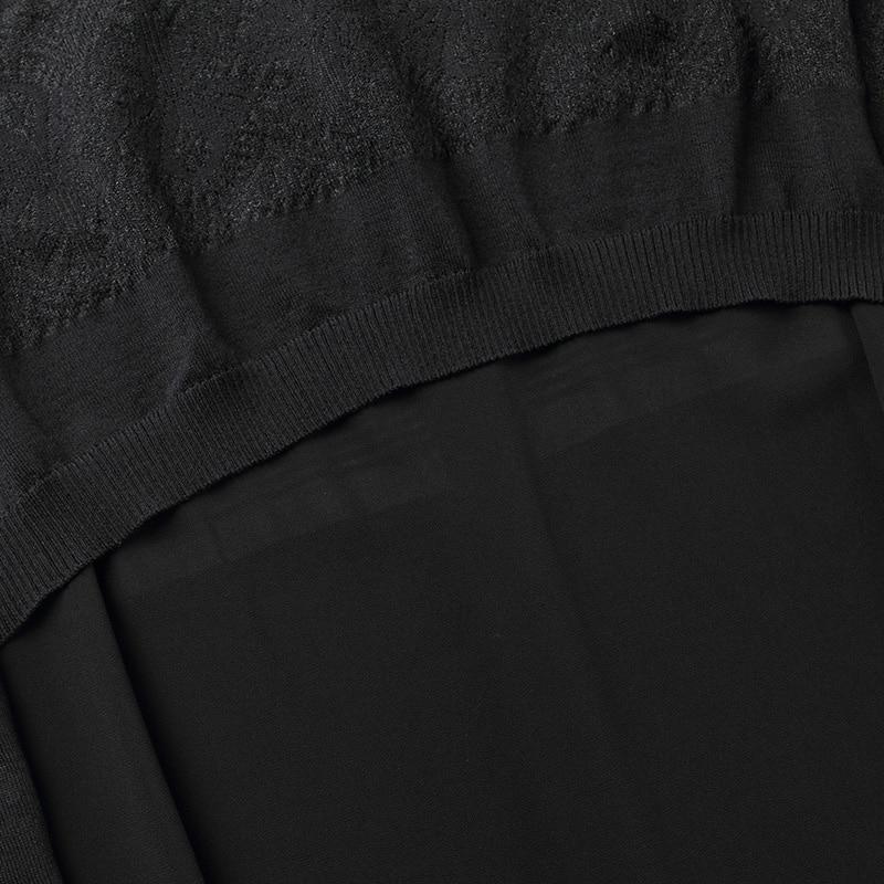 white Vêtements Ouvrir Chandail Manteau Point Mode Femmes Dames De Décontracté cou V Automne Cardigan Cardigans Chandails Black Mince Longue 2018 4qHAZ
