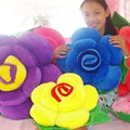 50cm Rose flower cushion home decor Adult plush stuffed toys Christmas and New Year gift
