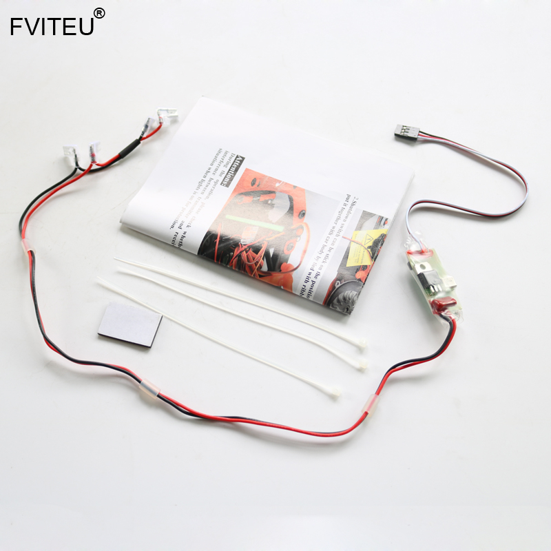 FVITEU RC Killer Gas Engine RC Switch Remote 3rd Channel for Marine Zenoah for 1/5 hpi baja 5b 5t Rovan KM Losi
