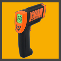 Industrial Digital Infrared Thermometer AR882+ 18~1650C Handheld Non Contact Infrared Pyrometer Temperature Meter Laser