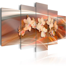 5 pieces/set Abstract flower series Picture Print Painting On Canvas Wall Art Home Decor Living Room Canvas Art PJMT-B (48)(China)