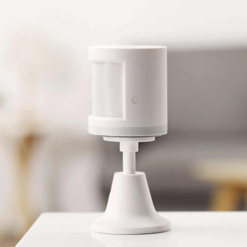 מקורי Aqara אנושי גוף חיישן ZigBee תנועת תנועה אבטחה אלחוטי חיבור אור בעוצמה Gateway 2 עבור Mi בית APP