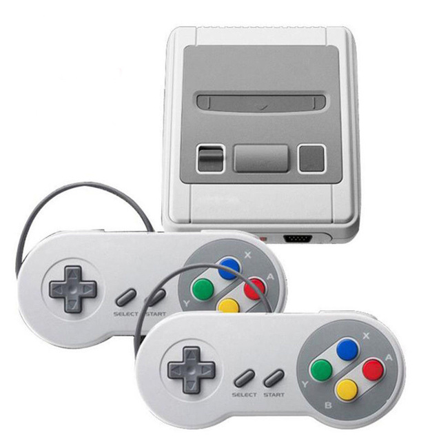 Super Mini HDMI Family TV 8 Bit SNES Video Game Console Retro Classic HDMI HD Output TV Handheld Game Player Built-in 621 Games