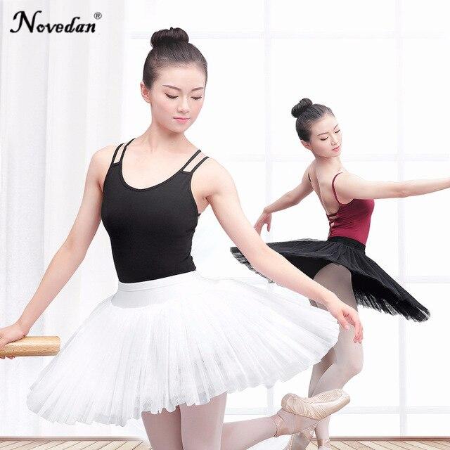 3e9046f0b 2018 nuevo Ballet profesional Tutus adultos bailarina Ballet Ropa de baile  Pancake Puff falda blanco Cisne lago Ballet disfraz Mujer