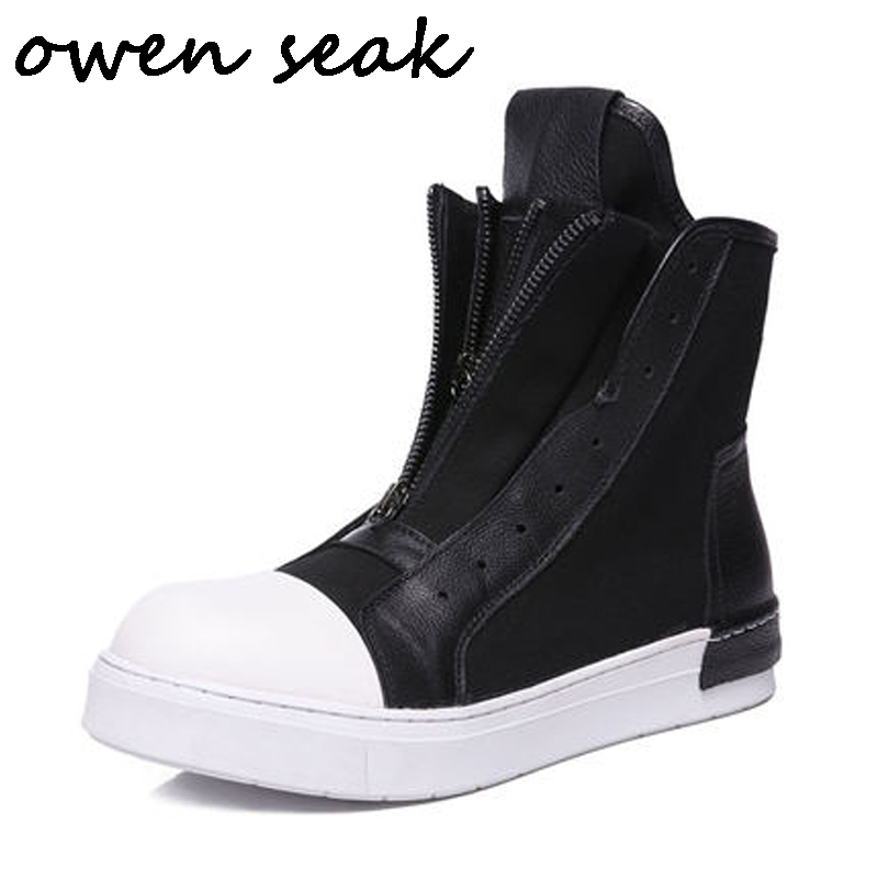 Shoes Realistic Wen Men Women Casual Shoes Black White Canvas Shoes Unisex Sneakers High Top Lace Up Footwear Vulcanized Shoes Flat Big Size 49 Cheap Sales