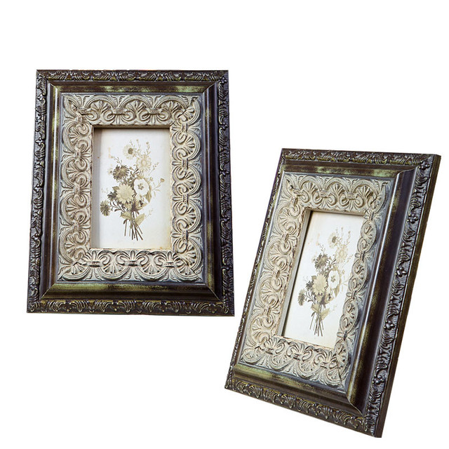 Make Old Vintage Style Picture Frame Wooden Classic Household ...