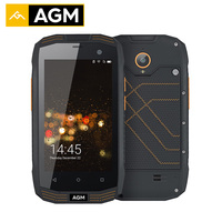 AGM A2 IP68 Waterproof Mobile Phones 16G ROM 2G RAM Qualcomm 4G LTE Smartphone Gorilla Glass