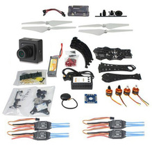 DIY RC Drone Quadrocopter 380mm Wheelbase Frame Kit with APM 2.8 Flight Controller Gimbal ESC F14893-P+camera