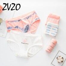 Panties for women cotton Flamingo pattern print cute underwear gril briefs cartoon lingerie woman underpants female panty 2019