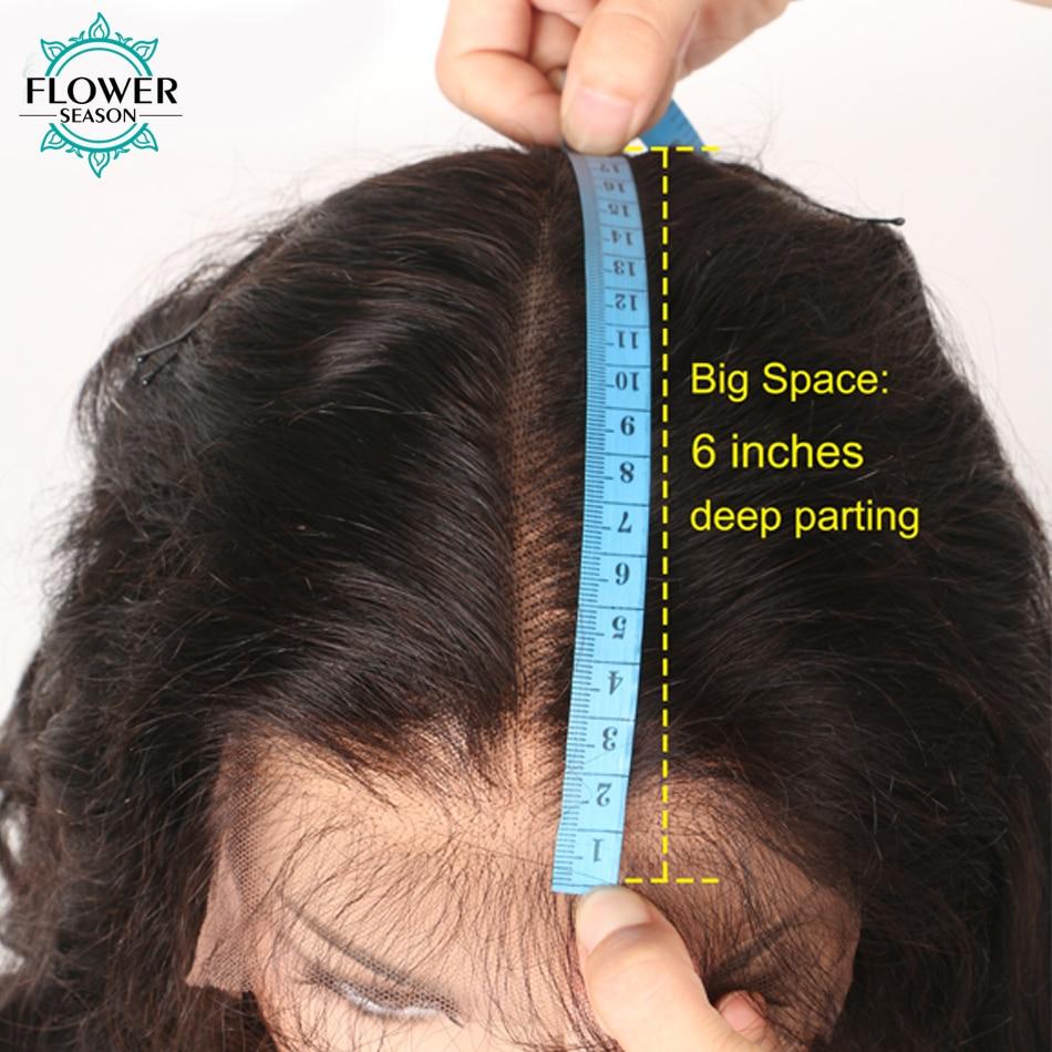 [Oulaer] 10 '' - 18''Natural Wave Brazilian Remy Hair Natural Color - Mänskligt hår (svart) - Foto 5