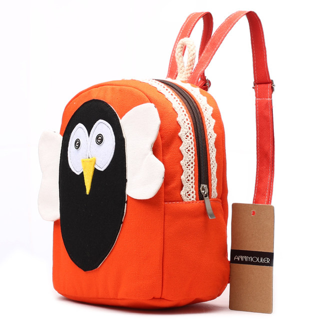 914d472a0ec3 Online Shop Annmouler Cartoon Backpack for Girls Animal Patchwork ...