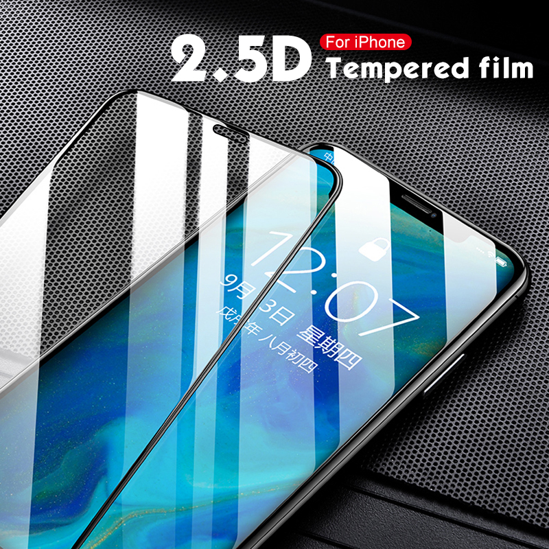 Tempered Glass For IPhone 7 8 6 6S Plus 5 Screen Protector On IPhone X Xs Max XR Protective Glass For IPhoneX IPhoneXR IPhoneXS