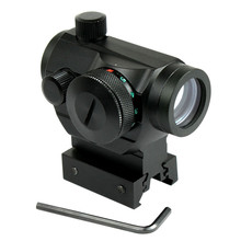 Tactical Reflex Red Green Dot Sight Scope w/ Dual High / Low Profile Rail Mounts Airsoft Hunting стоимость