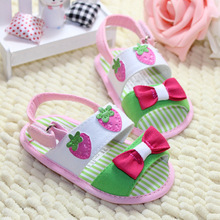 2018 summer baby first walker fashion style cute casual printing small Soft Sole
