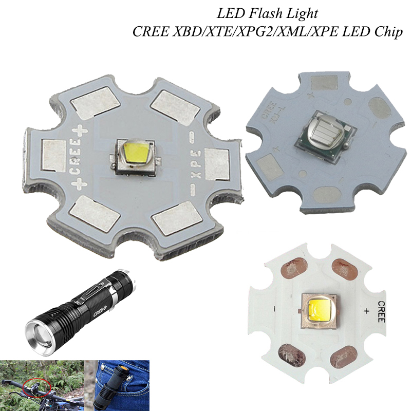 1x CREE XML2 XM-L2 10W Cool//Warm red green blue High Power LED chip+16//20mm PCB