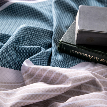 פשוט קלאסי מלכת מצעים סט 5 גודל מיטת פשתן 4 יח'\סט שמיכה כיסוי סט מיטת פסטורל גיליון AB צד שמיכה כיסוי 2019 מיטה