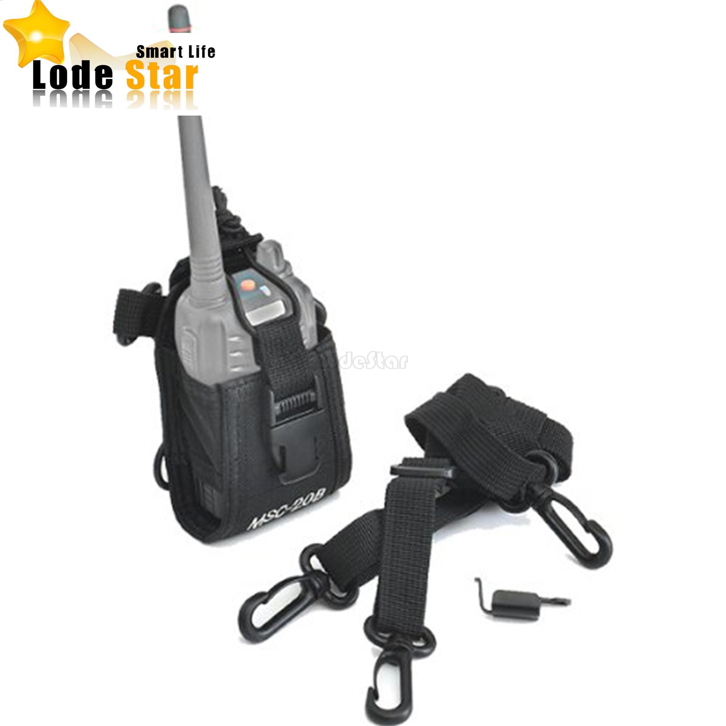 bilder für MSC-20B multifunktionale Radio Fall walkie talkie Tasche inhaber Fall für Baofeng Kenwood sprech UV-5R UV-B5 888 s radio tasche