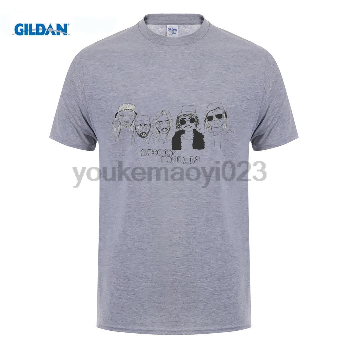 GILDAN Sticky Fingers for men t shirt