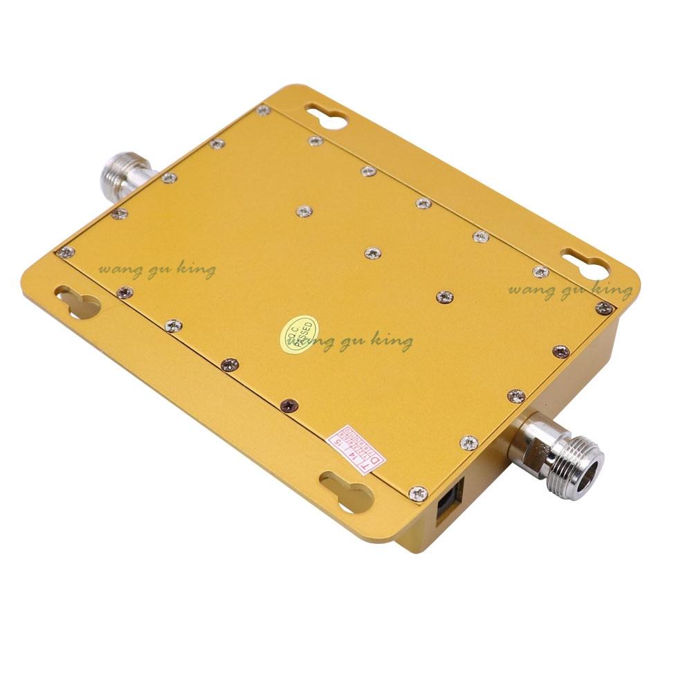 Ensemble complet LCD 3G UMTS WCDMA 2100 Mhz répéteur téléphone Mobile 3G amplificateur de Signal WCDMA amplificateur de répéteur de Signal + antennes 13db Yagi - 4