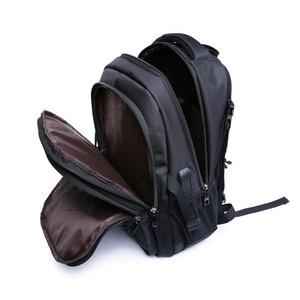 Image 4 - 소년을위한 학교 가방 15.6 17 인치 노트북 가방 키즈 백 팩 schoolbag 소년 cartable ecole 어린이 배낭 블랙 나일론 배낭