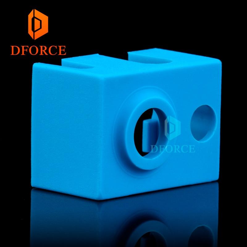 trianglelab  Super high quality cartridge heater bock silicone sock V6 socks for PT100 heated block v6 hotend nozzle