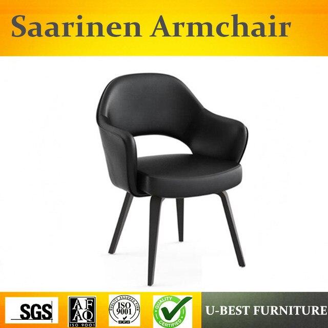 Free Shipping U BEST Fashion Design Fabric Saarinen Restaurant Chair With  Wood Leg Coffee Chair