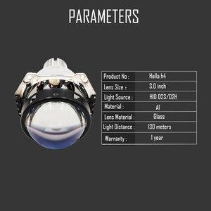Image 4 - 3.0 นิ้ว H4 Hella 5 Bi xenon โปรเจคเตอร์เลนส์ Retrofit ไฟหน้ารถสำหรับ D2S D2H xenon ชุดหลอดไฟชุดไฟหน้าปรับเปลี่ยน