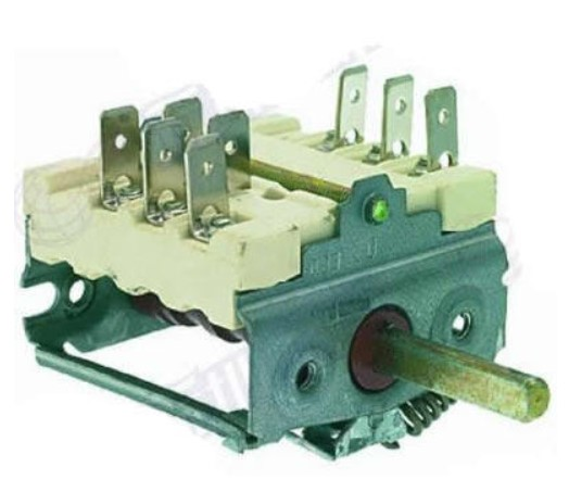 ANGELO PO 3041660 SELECTOR SWITCH 0-1 POSITIONS 16A 250V selector switch 0 3 positions ego 4334232000