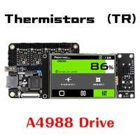 Lerdge X 3D Printer Motherboard ARM32Bit Controller A4988 8825 8729 TMC2100 TMC2208 for 3D Printer Control Mainboard Kit Diy