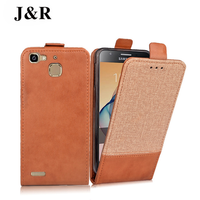 J&R Luxury Leather Case For Huawei GR3/Huawei Enjoy 5S/Huawei G8 Mini TAG-AL00 TAG-L13 Filp Cases Cover Protective Phone Bag