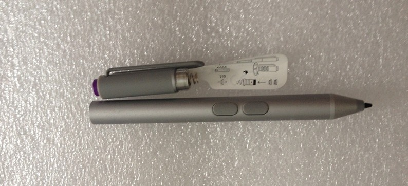 New Wireless Bluetooth 4.0 N-trig Stylus For Microsoft Surface Pro 3 Pen+Touch Refill capacitive electromagnetic pen