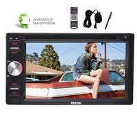 Support tv (not included) Car Stereo Andriod 6.0 2din GPS Car CD GPS DVD Player Headunit USB/SD Wifi OBD Mirror Link 1080P Video
