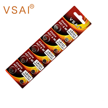 VSAI AG11 10pcs/pack 1.5V Button Cell Watch Battery 362 LR721 Batteries Support Drop Shipping