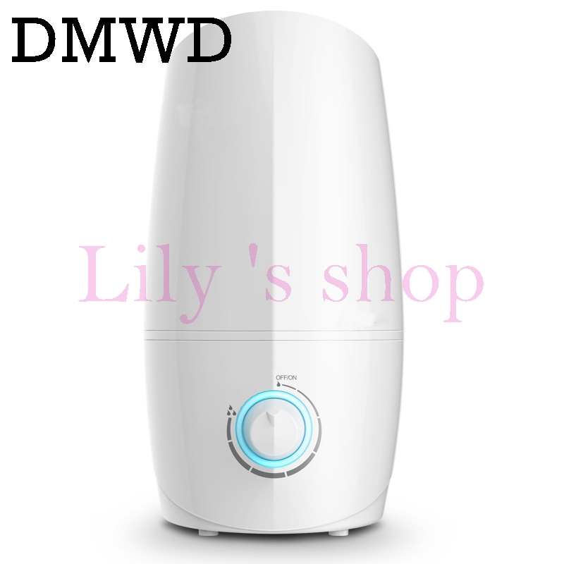 DMWD 3L Ultrasonic Air Humidifier Essential Oil Diffuser Electric Aroma Diffuser Mist Maker Aromatherapy Machine for Home Office new 300ml woodgrain essential oil aroma diffuser aromatherapy humidifier mist maker purifier 3 models