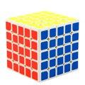 MoYu MF5S 5x5x5 Sticker Speed Cube Magic Cube Puzzle - White/Black