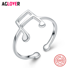 925 Silver Rings for Men Women Real Sterling Top Quality Geometry Frosted Flakes Ring Couple Jewelry Finger