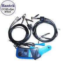 Hantek CC-65 ac/dc braçadeira medidor com conector bnc + 2 pces ht25 auto ignição sonda cc65 ht 25 cc 65