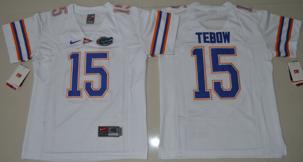 d5737ed0d florida gators 15 tim tebow blue fighting jersey