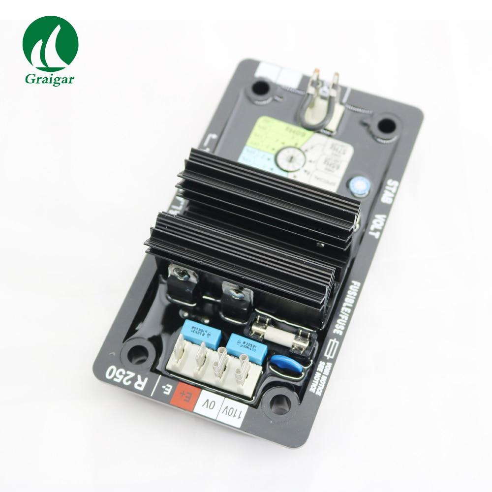 Régulation automatique de tension AVR R250 de haute qualité pour générateur