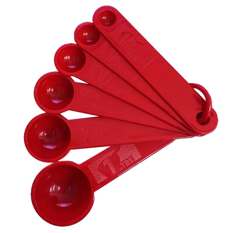 6pcs set measuring spoons for Kitchen tool set of 6pcs sj