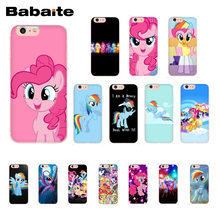Babaite Magic My Little Pony узор ТПУ мягкий чехол для iPhone 8 7 6 s плюс X XS MAX 5 5S SE XR 10(China)
