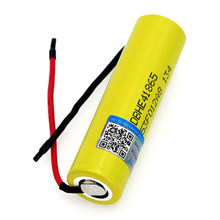 VariCore HE4 2500 mAh akumulator litowo-jonowy 18650 3.7 V akumulator 20A absolutorium + DIY żel krzemionkowy kabel
