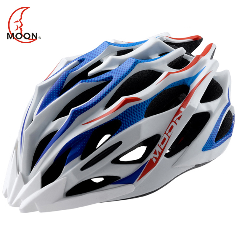 MOON Cycling Helmet 28 Air Vents Ultralight Bicycle Helmet Road Mountain Bike Helmet MTB Helmet Casco Ciclismo