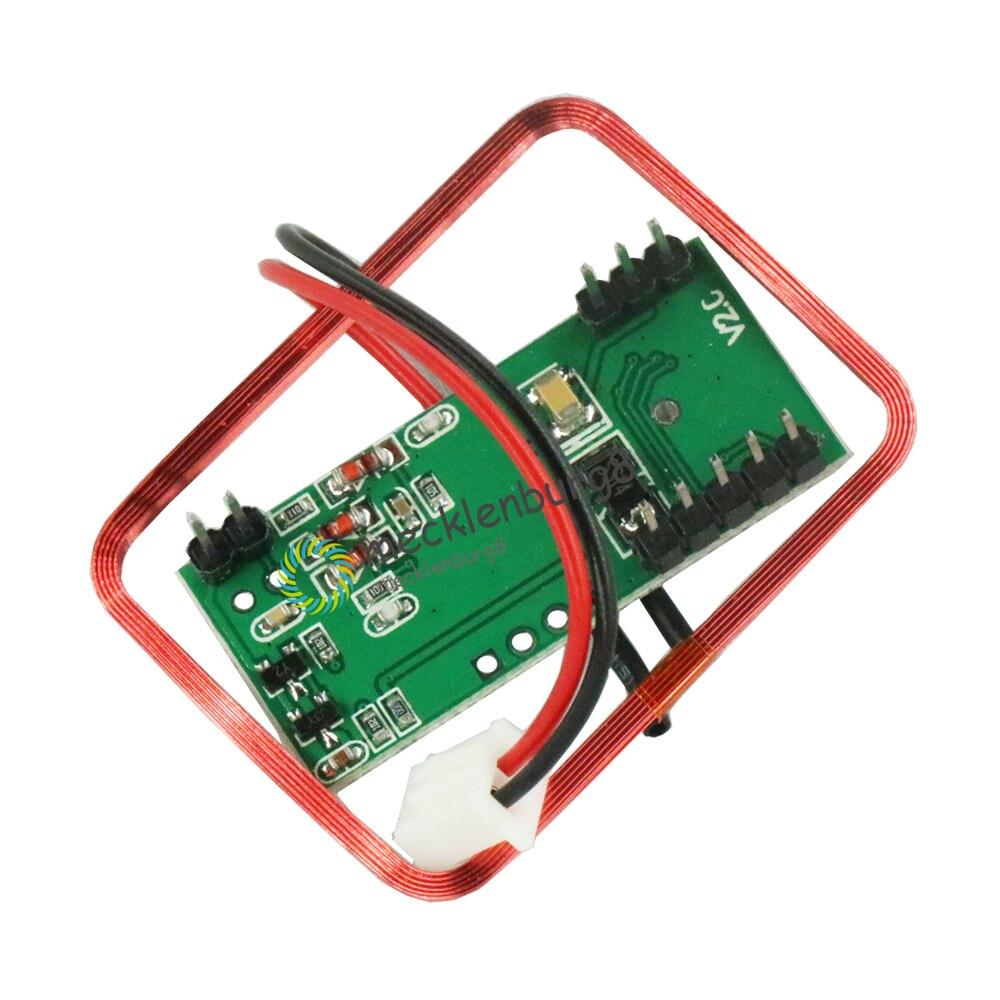 UART EM4100 RFID Card Key ID Control Module RDM6300 RDM630 Access Control System UART Reader Module For Arduino Output 125Khz