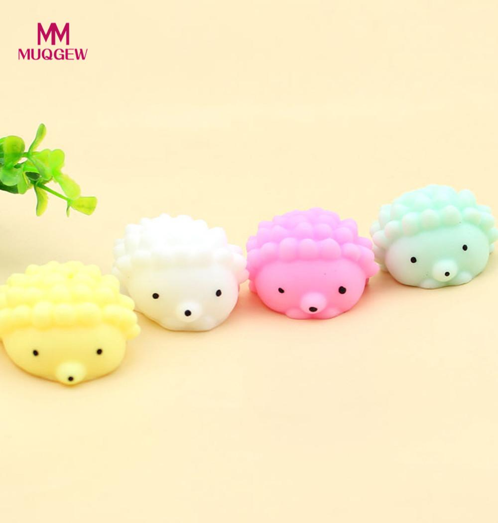 8PC Mini Animals anti-stress squishi Funny Toy Soft Stress And Anxiety Relief Toys Decor toys for children antistress squirrels