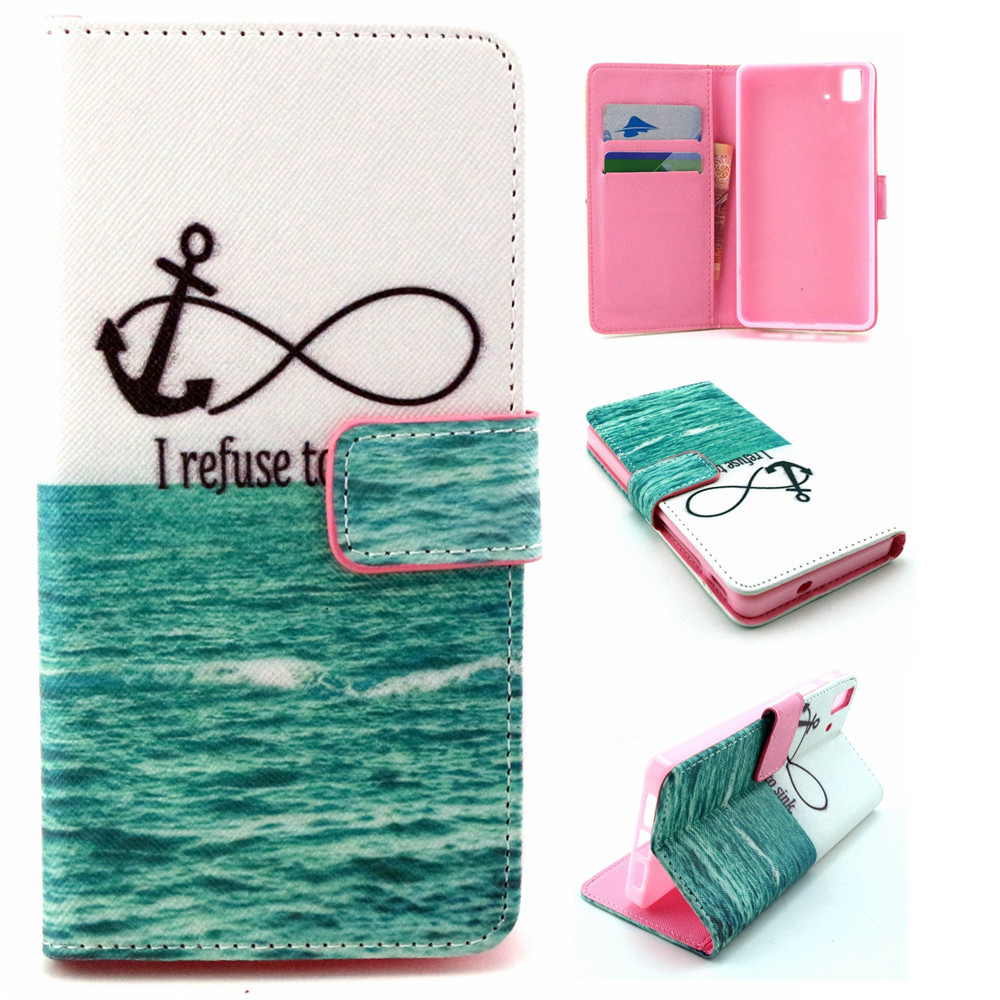 Sea-I-Refuse-to-Sink-Pattern-Leather-Flip-Stand-Wallet-Pouch-Shell ...