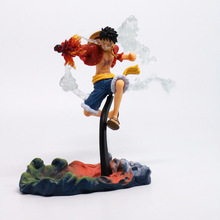 14CM One Piece Luffy Anime Action Figure PVC New Collection figures toys Collection for Christmas gift free shipping sexy 9 one piece anime p o p cp9 kalifa boxed 22cm pvc action figure collection model doll toys gift
