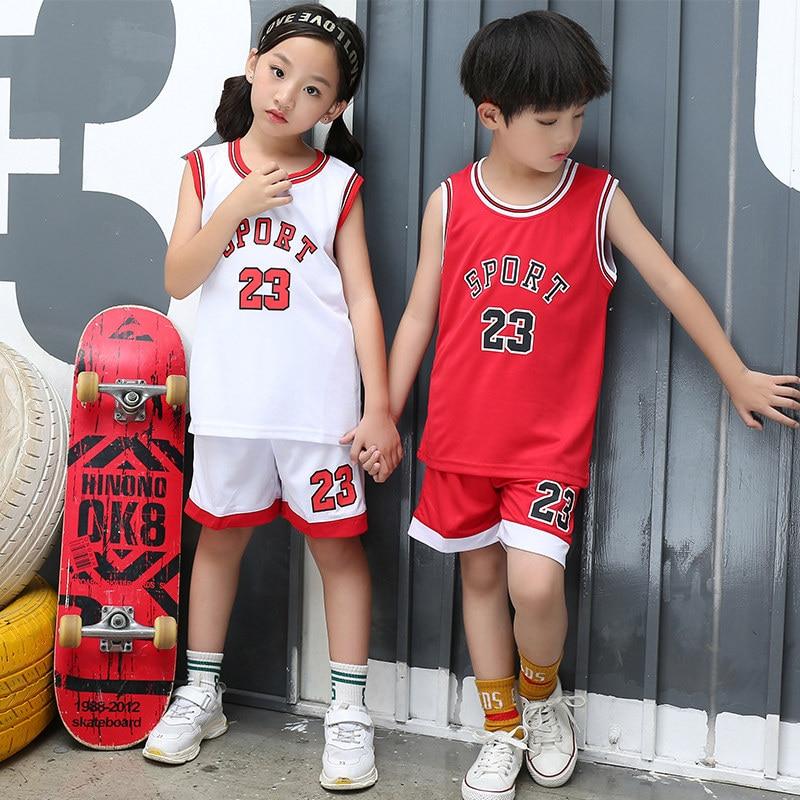 Toddler Boy Girls Summer Sport Jerseys
